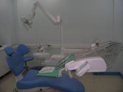 Behandelstoel blauw